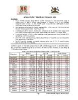 05 February 2015 report
